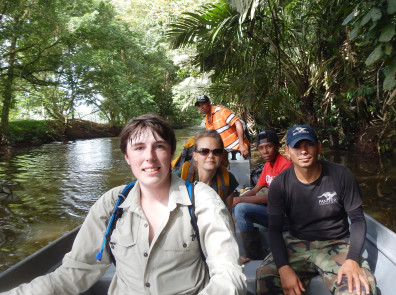 Graduate student Travis King studies big cats in the jungles of Central America.