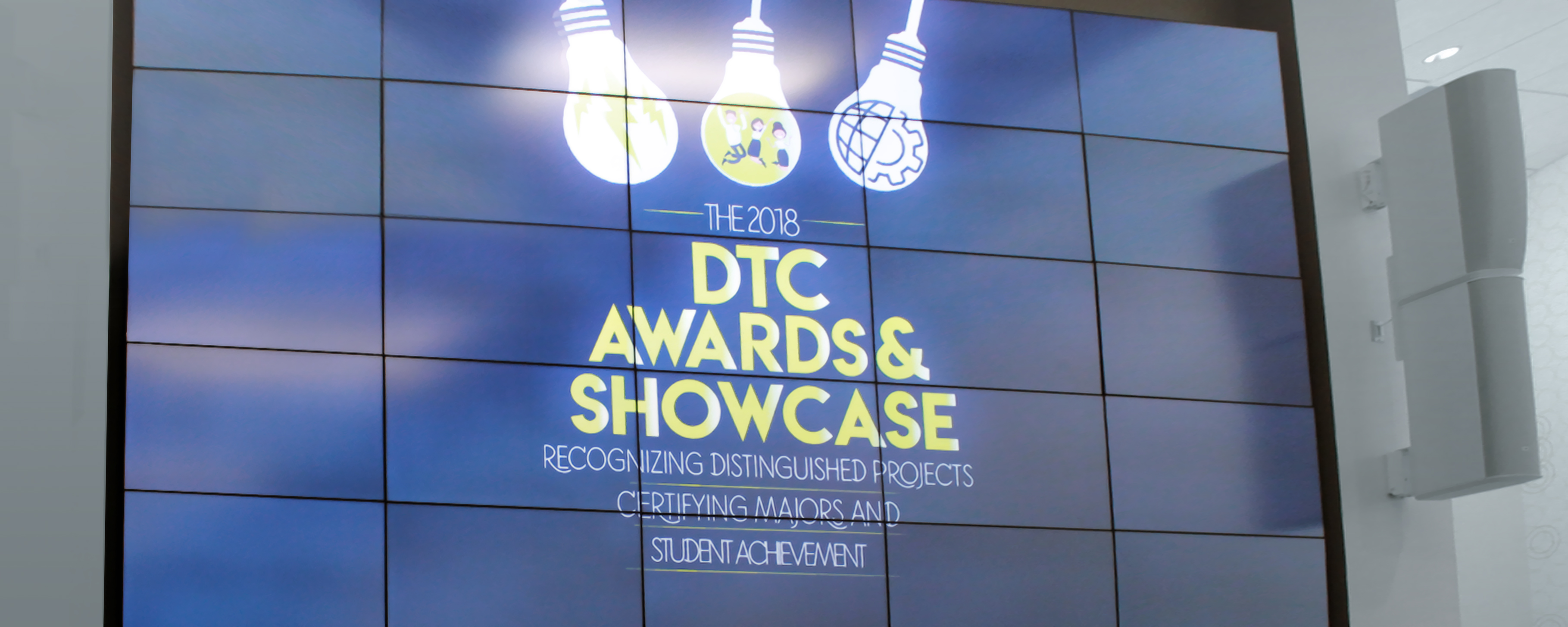 The Spark screen displays the 2018 Spring Showcase poster