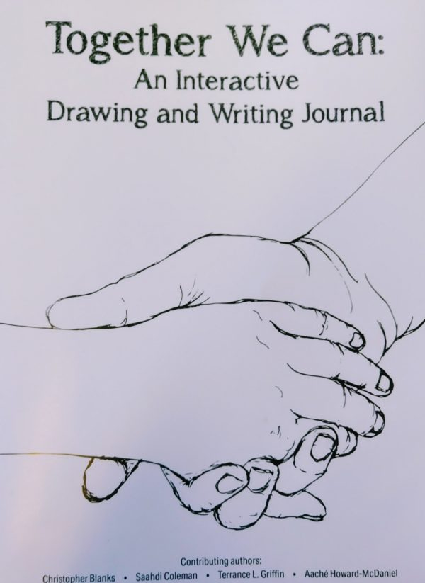 "Title page for ""Together We Can: An Interactive Drawing and Writing Journal"""