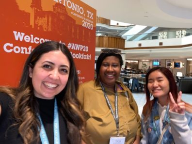 LandEscapes Editors at AWP in San Antonio, TX (March 2020)