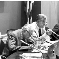 Foley chairing a committee 1975