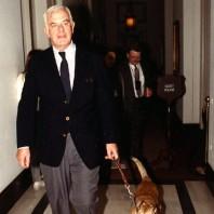 Foley with dog Alice
