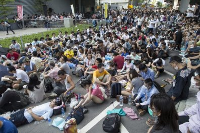 Sit in photo