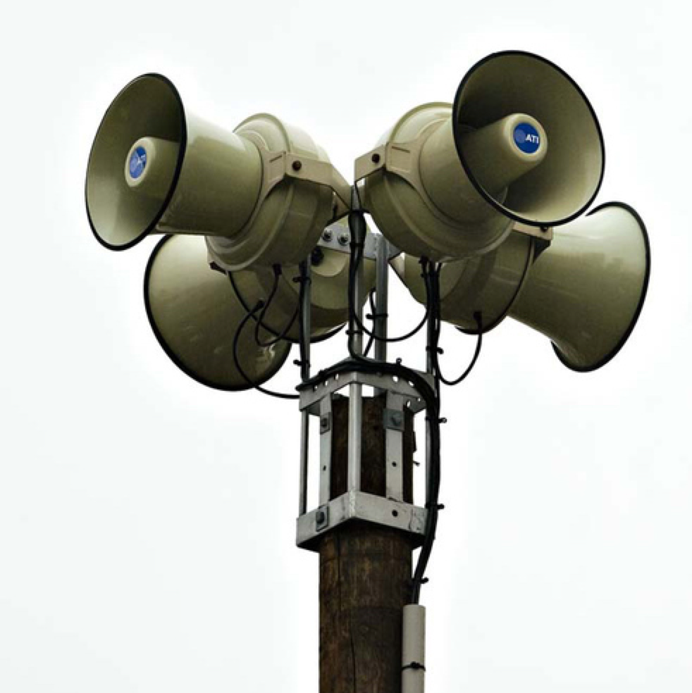 Campus Outdoor Warning System Alert Washington State