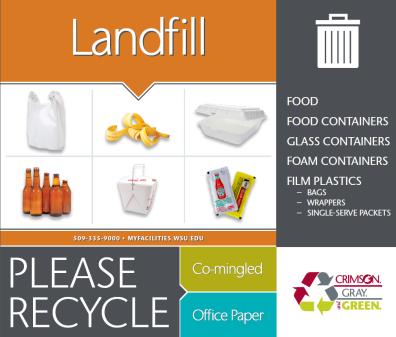 landfill signage