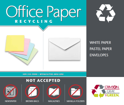 office paper signage