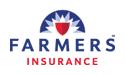 Logo: Farmers Insurance.