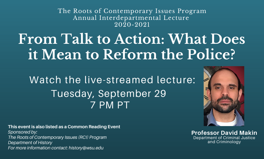 RCI Lecture Livestream September 29 at 7pm