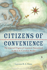 "Detail from cover of ""Citizens of Convenience."""