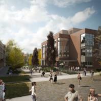 artist's rendering of DCB Mall