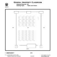 223 classroom layout floor plan