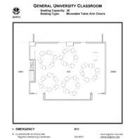 333 classroom layout floor plan
