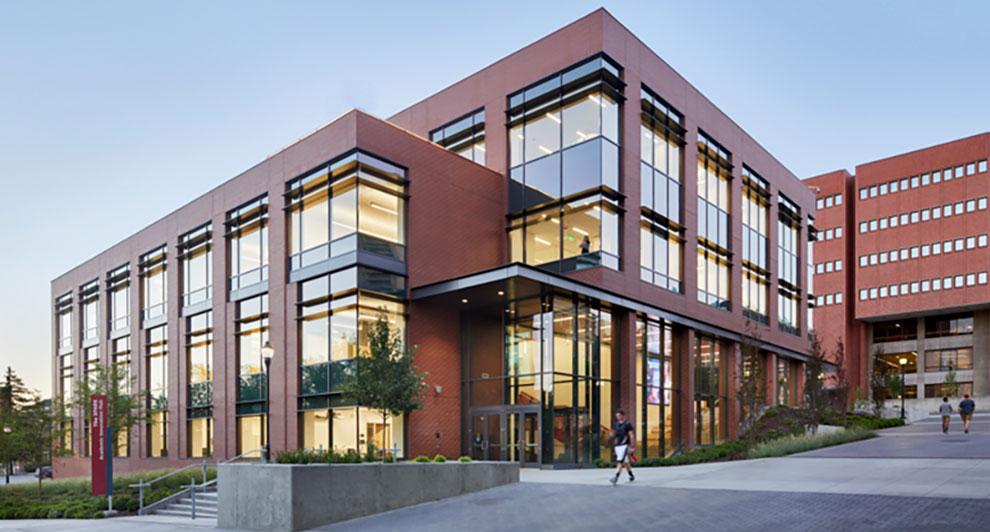 Main entrance of The Spark Innovation Hub