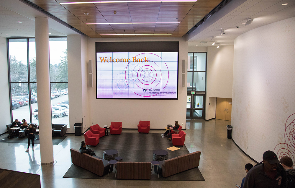Video Wall in the Atrium