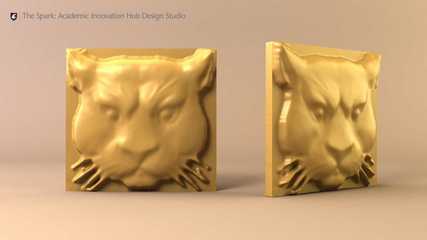 Concept Image - Cougar head for Todd Hall