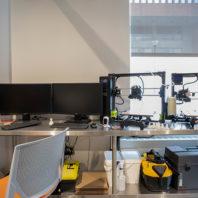 Photo: Spark 115 3D printer.