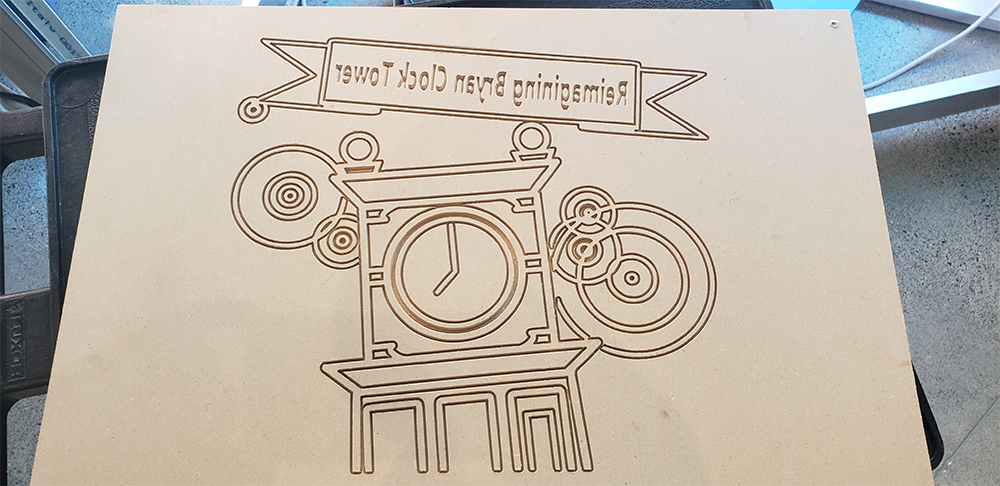 Block printer.