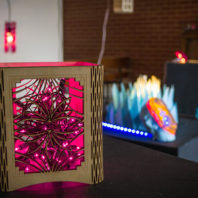 Photo: Lantern box.