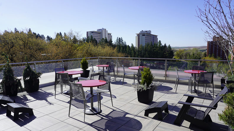 Photo: Spark Rooftop Patio.