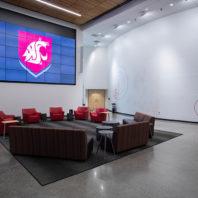 Photo: Spark Atrium seating.