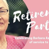 Barbara Aston's Retirement Party Jan 9, 2019