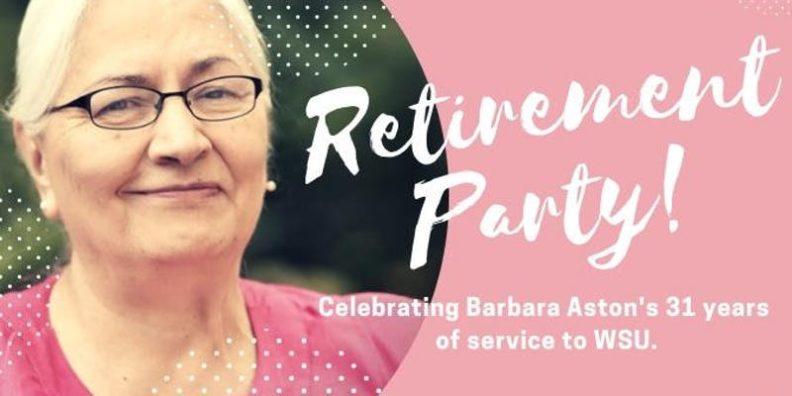 Barbara Aston's Retirement Party Jan 9, 2019