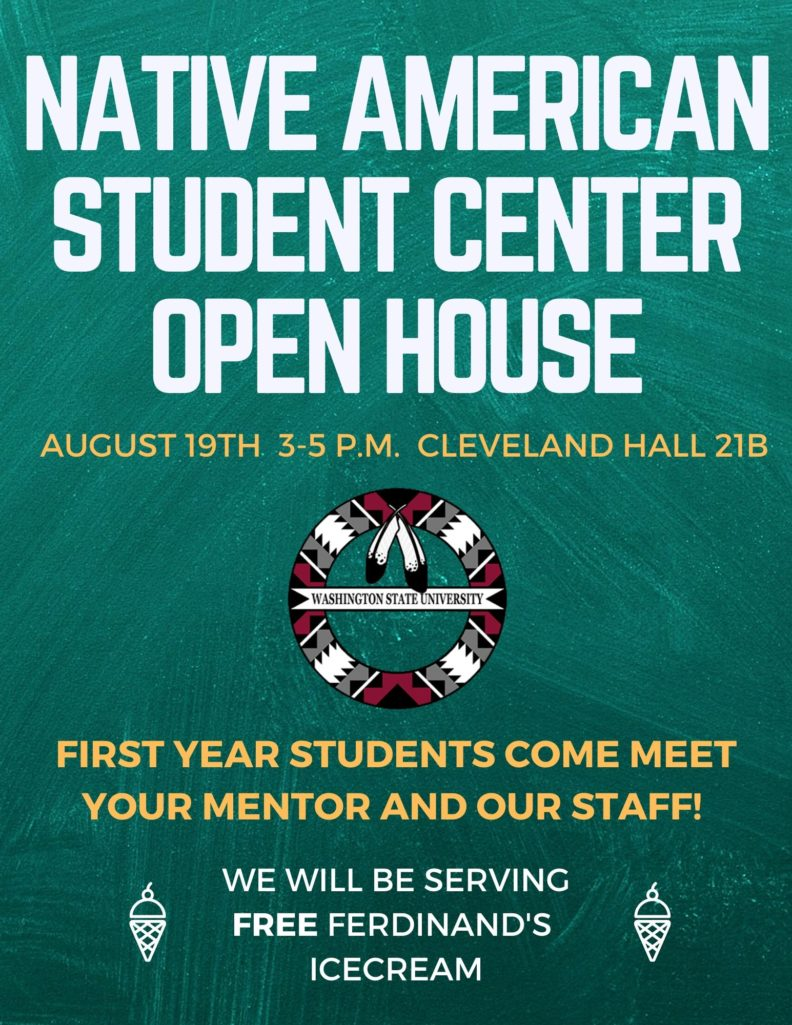 advertisement for August 19th Open House