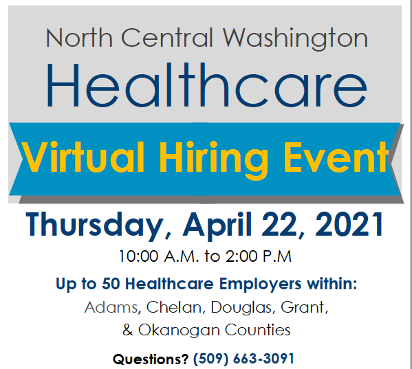 North Central Hiring Event flyer