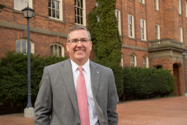 President Kirk Schulz.