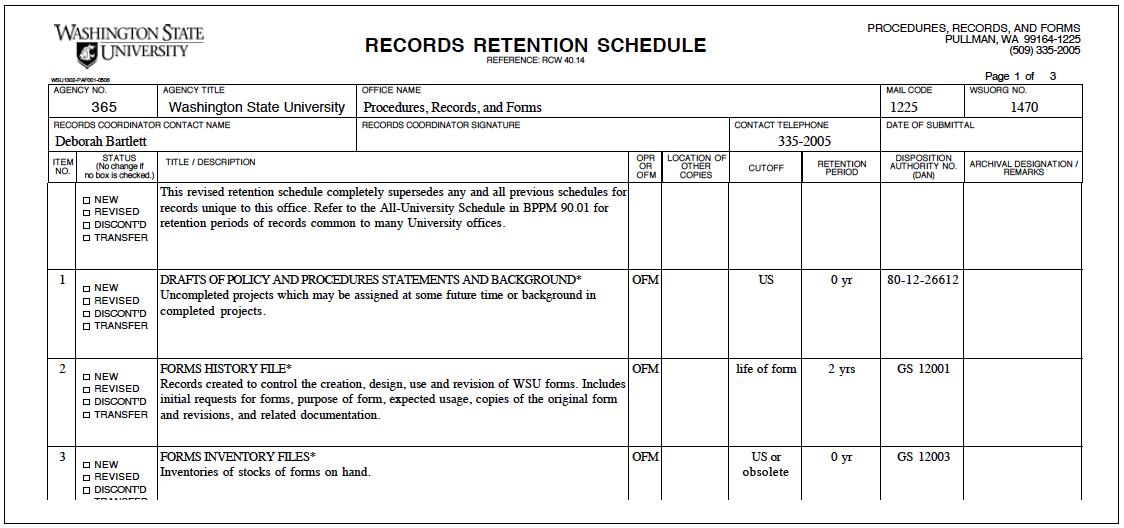 90 01 university records retention and disposition pr f site