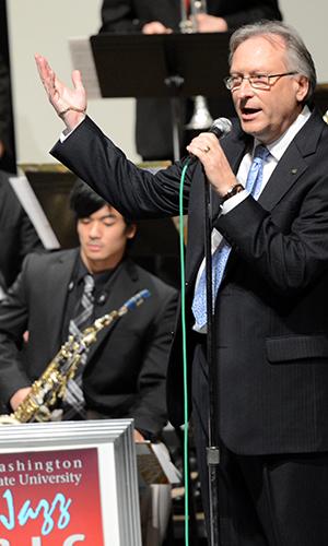 WSU jazz band at 2013 Jazz festival