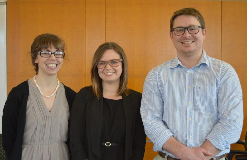 Three grad students