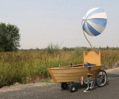 The Umbrellaship, a fantastical art machine