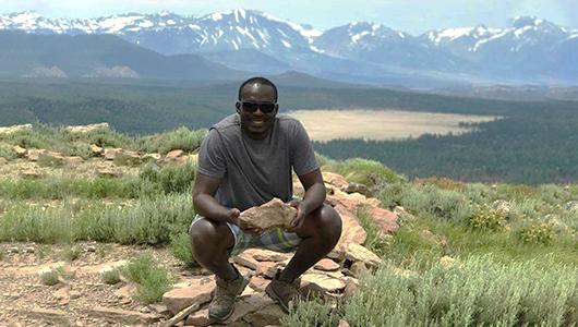 Lambert in the mountains