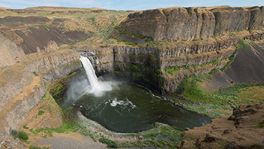Palouse Falls (c)WSU Photo Services