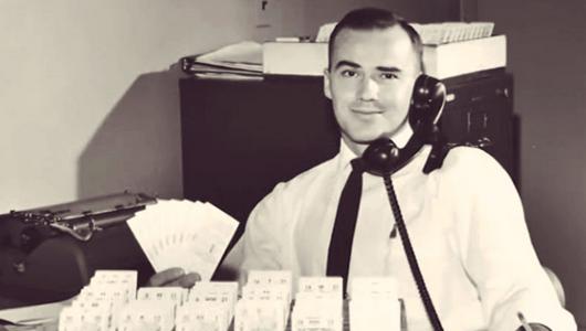 1950s ticket office