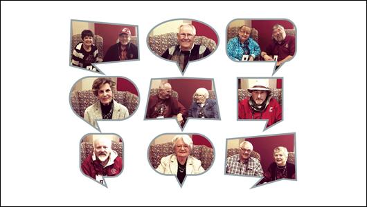 Collage of alumni