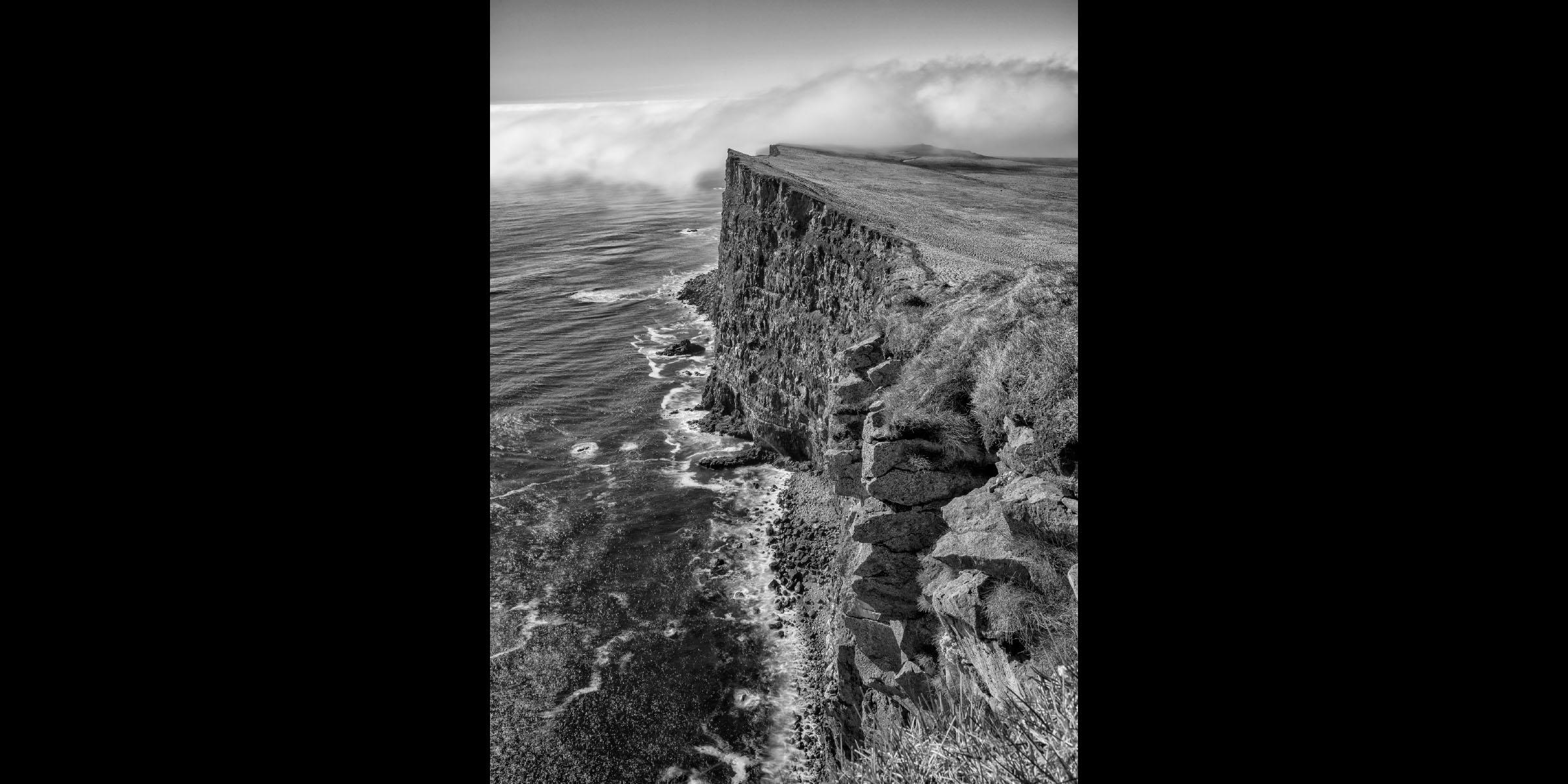 Latrabjarb Cliff and Fog