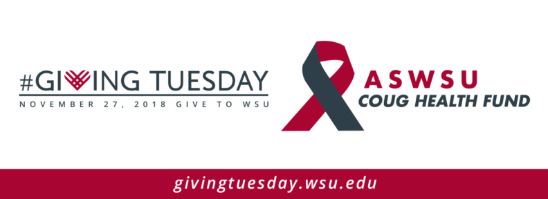 Giving Tuesday - ASWSU Coug Health Fund