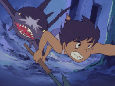 Still from Future Boy Conan