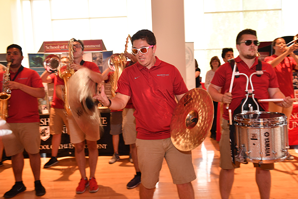 CAS WOW Week of Welcome Kick-Off Event.