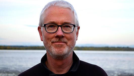 Professor of English Peter Chilson.