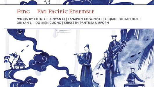 Book cover - Feng Pan Pacific Ensemble.