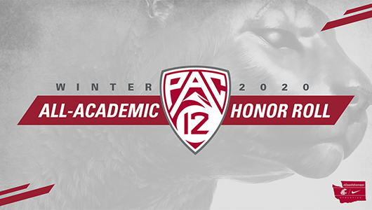 Winter 2020 All-Academic Pac 12 Honor Roll.