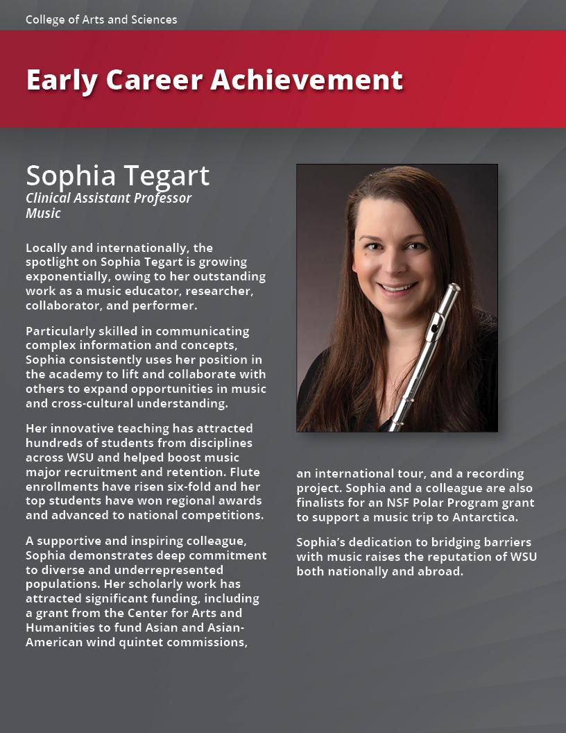Sophia Tegart