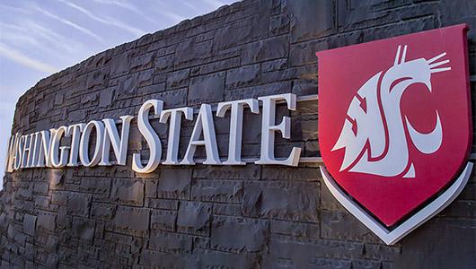 Entrance to WSU Pullman campus.