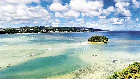 Agana Bay, Guam.