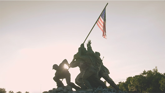 US marine corps war memorial.
