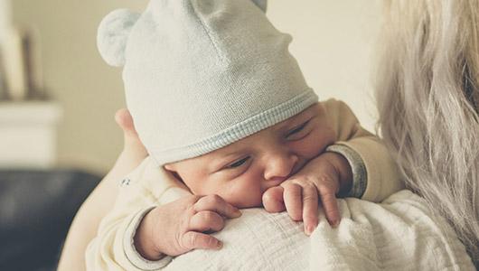 An infant.