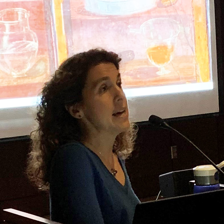 Hallie Meredith teaching.